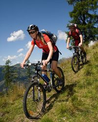 Mountain biking in Gastein
